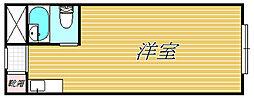 コンフォート神楽坂[2階]の間取り