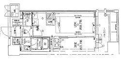 JR鹿児島本線 千早駅 徒歩5分の賃貸マンション 11階1LDKの間取り