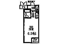 荒井マンション バーミー248[1階]の間取り