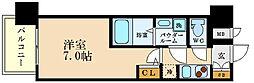 アドバンス西梅田IIIエミネンス[5階]の間取り