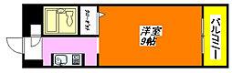 メゾン・ドーム千成 204号室[2階]の間取り