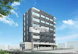 仮)中区正木三丁目自宅併用店舗マンション[1階]の外観