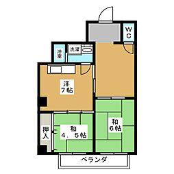 ノマツビル[5階]の間取り