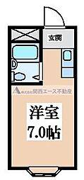 菱屋西CTスクエア[4階]の間取り