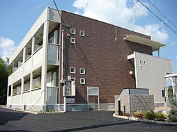 京都府八幡市八幡南山の賃貸アパートの外観