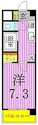 River Marushin〜リヴェールマルシン〜[2階]の間取り