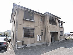 兵庫県姫路市四郷町東阿保2丁目の賃貸アパートの外観