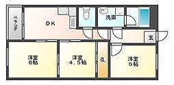 アンコール第二ビル[7階]の間取り