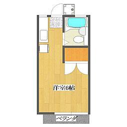 roze6[2階]の間取り