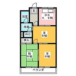 シャトータウン88[3階]の間取り