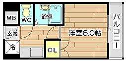 エスアイマンション[3階]の間取り