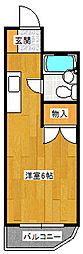 メゾン・ド・リテール[4階]の間取り