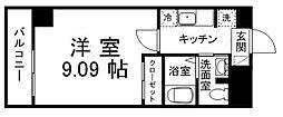 ロイヤルスカーレット[2階]の間取り