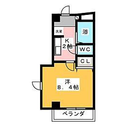 N'S マンション[4階]の間取り