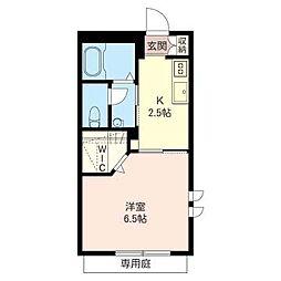 エンゼル ハウス[1階]の間取り