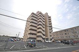 岡山県倉敷市青江の賃貸マンションの外観