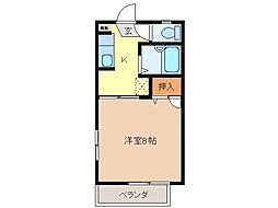 スペースパラダイス[2階]の間取り
