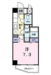 フォレスト MORI[2階]の間取り