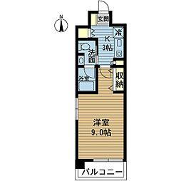 ラ・ティーダ塚本[3階]の間取り