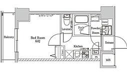 ラフィスタ大師前III[5階]の間取り