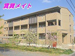 三重県四日市市大字羽津の賃貸アパートの外観