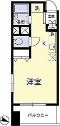 コア・OK3[8階]の間取り