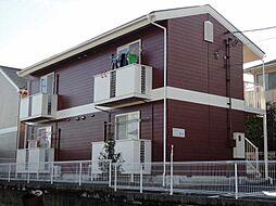 山梨県南アルプス市小笠原の賃貸アパートの外観