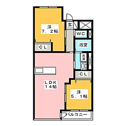 近鉄富田駅 7.4万円