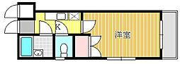 ユーコート八王子[210号室]の間取り
