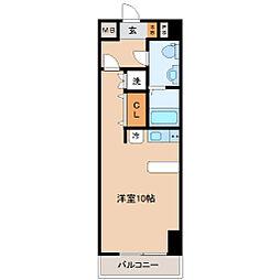 レジディア仙台本町[4階]の間取り