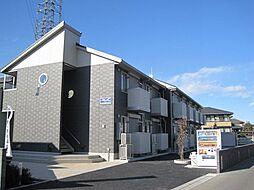 栃木県小山市若木町3の賃貸アパートの外観