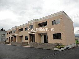 岡山県岡山市中区円山丁目なしの賃貸アパートの外観