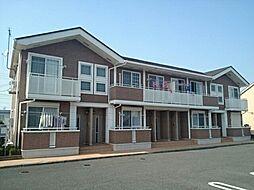 群馬県高崎市吉井町吉井の賃貸アパートの外観