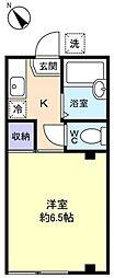 秋山ビル[2階]の間取り