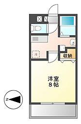 キャノンピア鶴舞[4階]の間取り