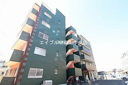 岡山県岡山市中区国富4丁目の賃貸マンションの外観