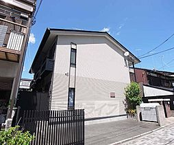 京都府京都市中京区西ノ京永本町の賃貸アパートの外観