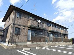 埼玉県本庄市日の出3丁目の賃貸アパートの外観