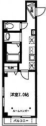 インブルーメンハイン[2階]の間取り