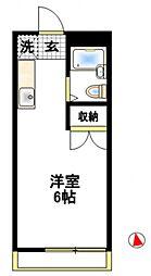 エイトハウス伊藤[2階]の間取り