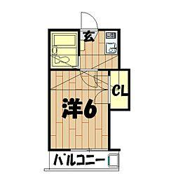 スターホームズ鶴ヶ峰VI[201号室]の間取り