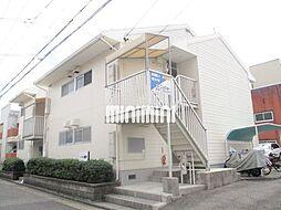 コーポ鶴里[2階]の外観