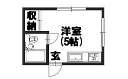 シャルム栄[3階]の間取り