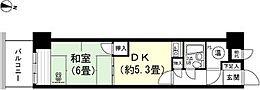 和室6畳 DK約5.3畳