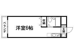 紫明ドミトリー[4階]の間取り