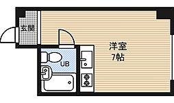 新大阪コーポビアネーズ[11階]の間取り
