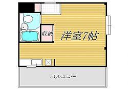 西落合ハイム[3階]の間取り