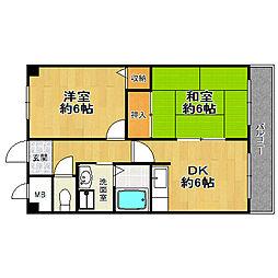 佃第一ローズマンション[3階]の間取り