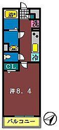 リブリ・船橋宮本[308号室]の間取り
