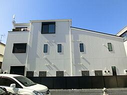 東京都中野区江古田の賃貸アパートの外観